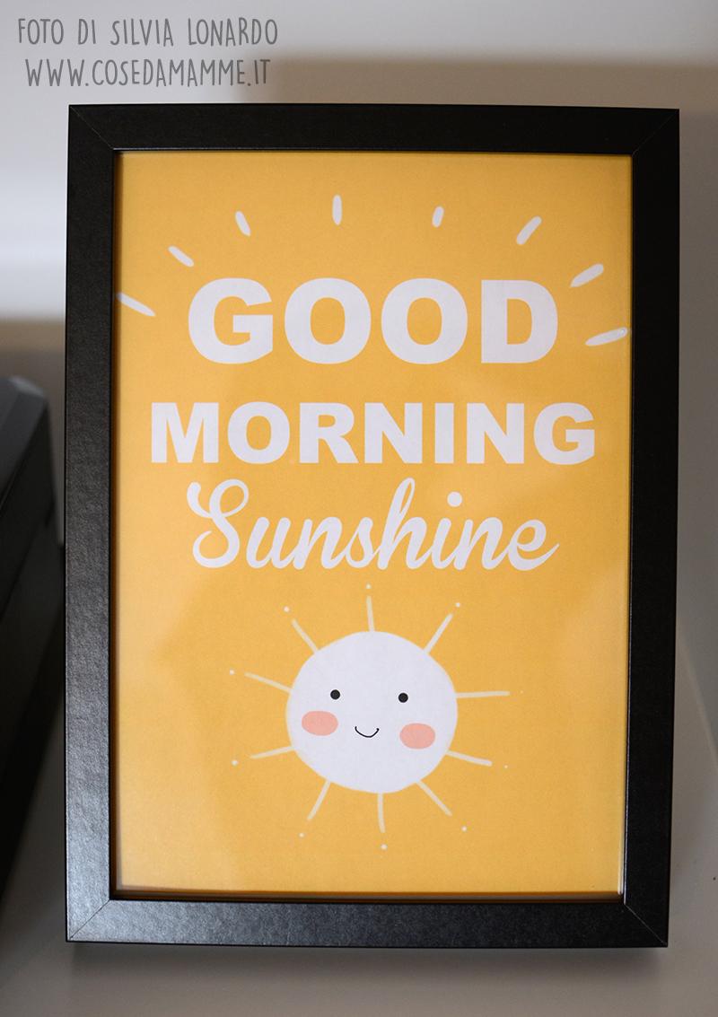hello sunshine stampa gratis