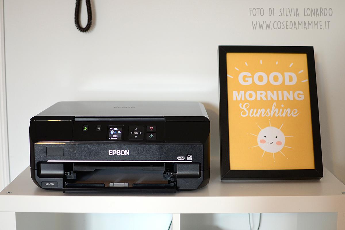 stampante e stampa sunshine