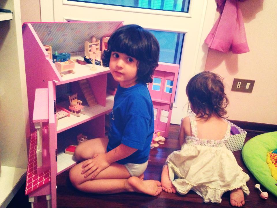 casa bambole bimbi