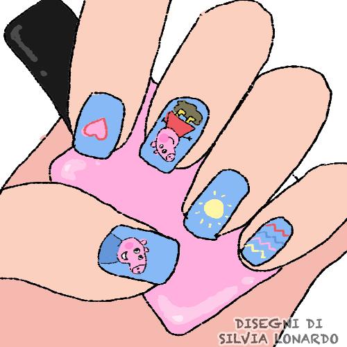nail art copia