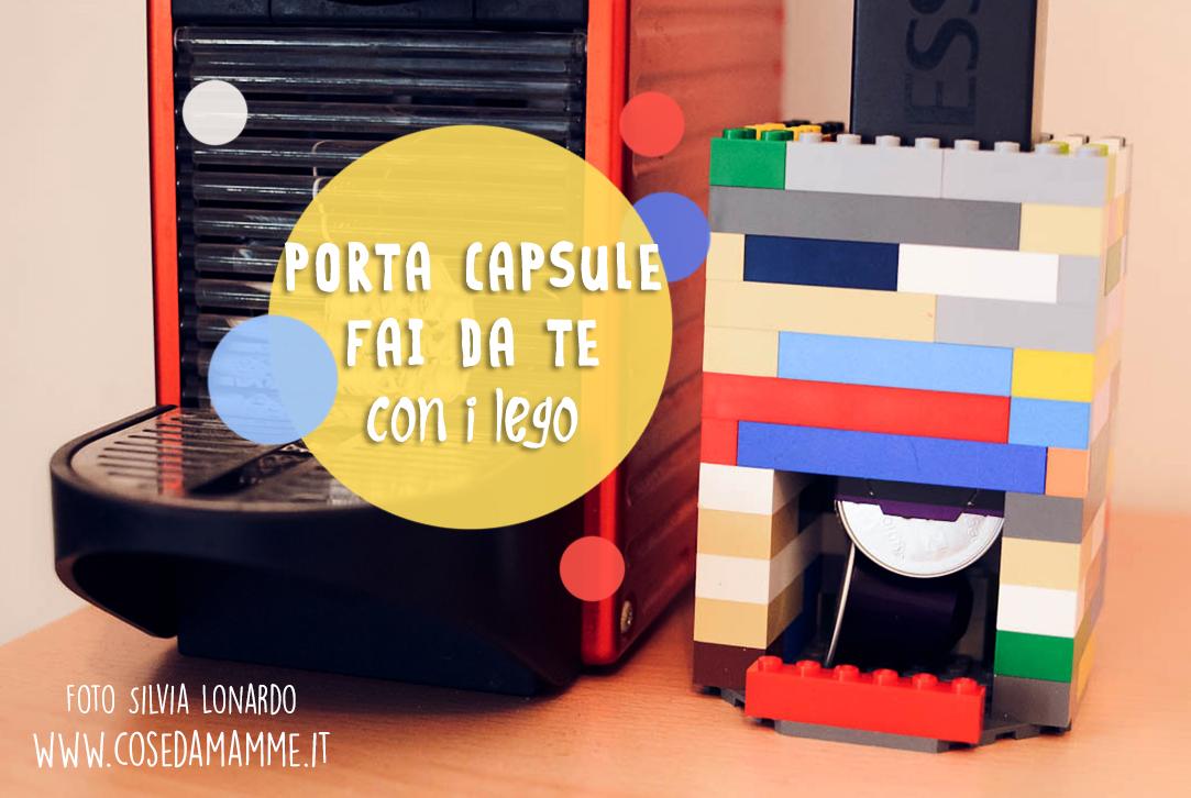 Creare un porta capsule con i lego idea regalo festa del for Costruire la mia piccola casa online