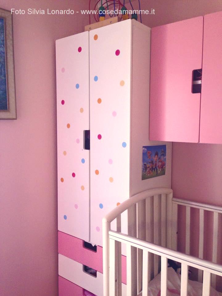 Come ho decorato le camerette usando gli adesivi for Immagini camerette ikea