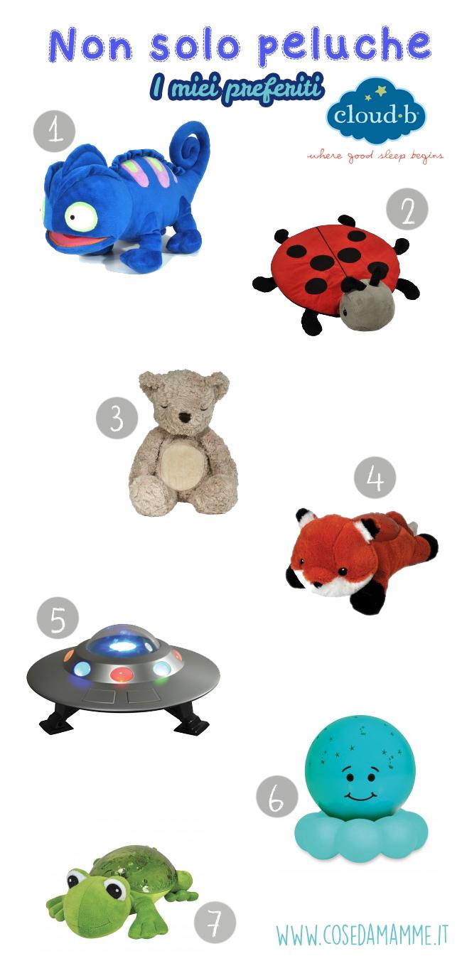 cloudb preferiti giocattoli peluche luminosi luci notturne