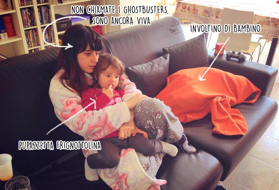 famiglia ammalata