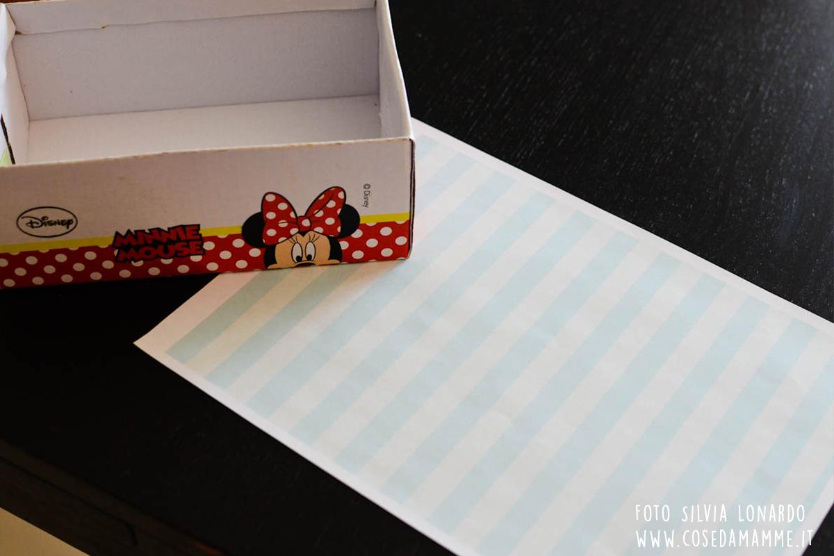 casa delle bambole scatola scarpe 1
