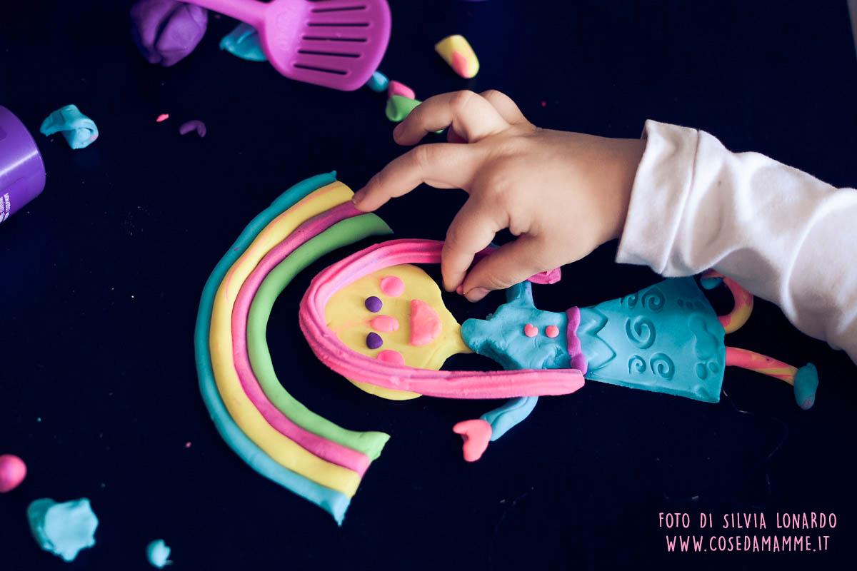 giocare con il playdoh