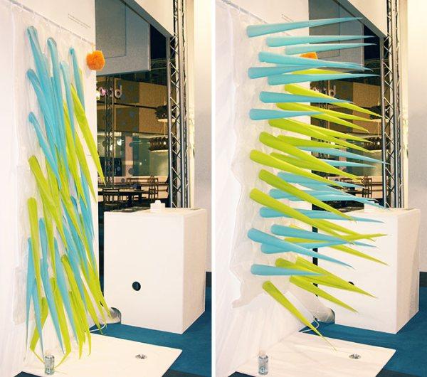 tenda doccia invenzione per risparmiare acqua