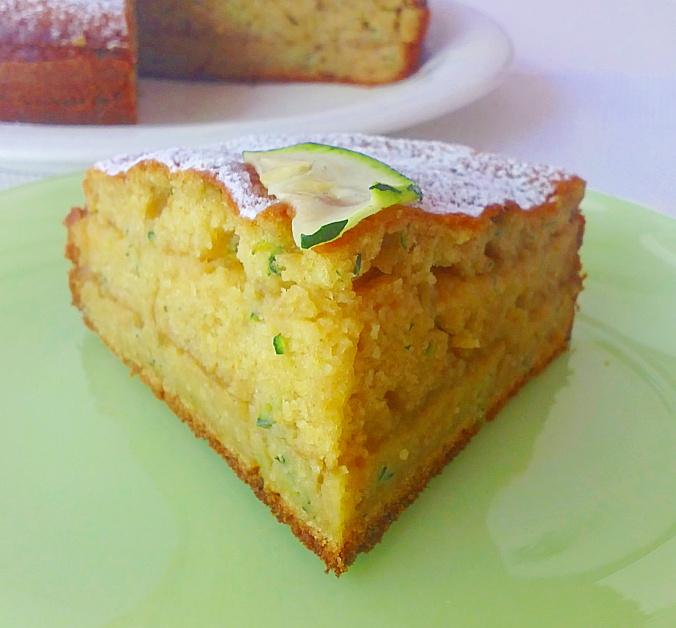 torta zucchine dolce