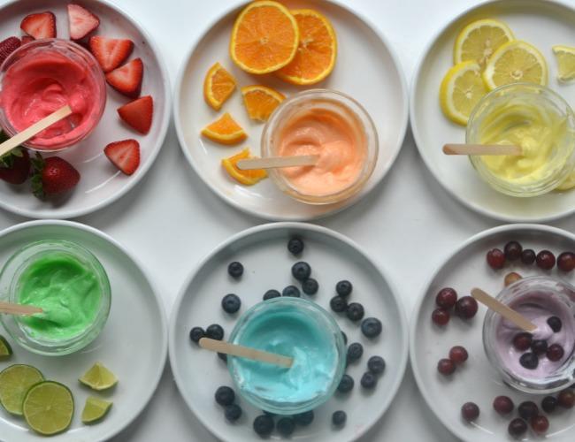 colori commestibili per bambini