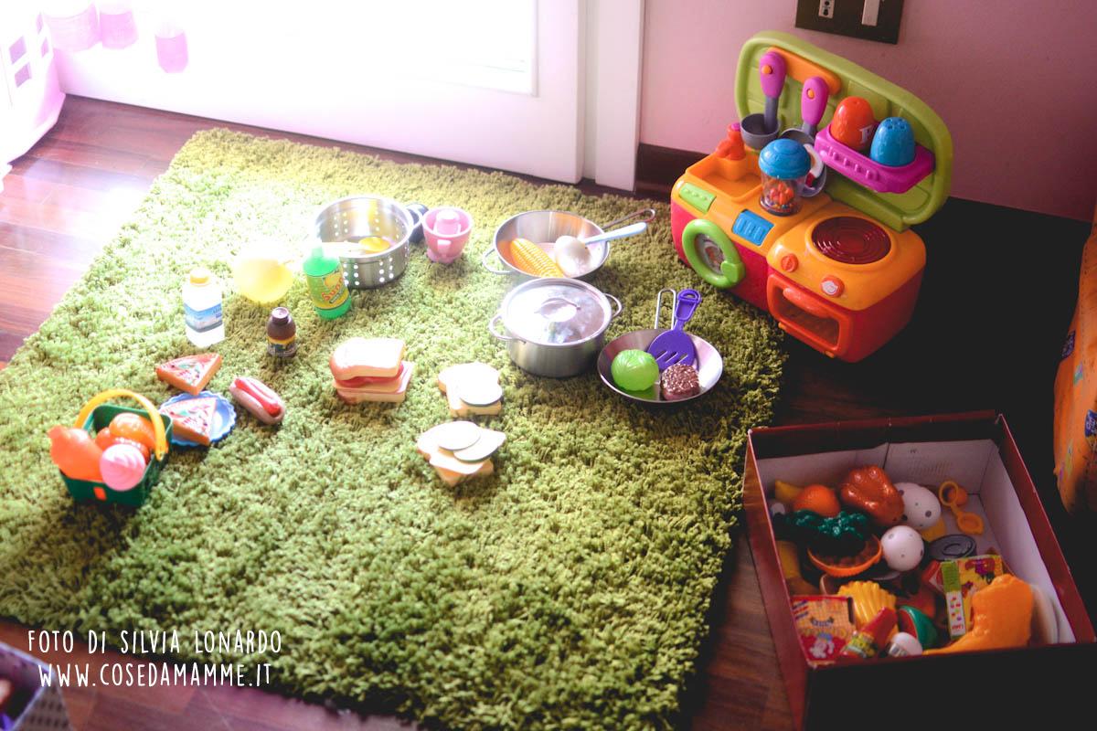 picnic sul tappeto