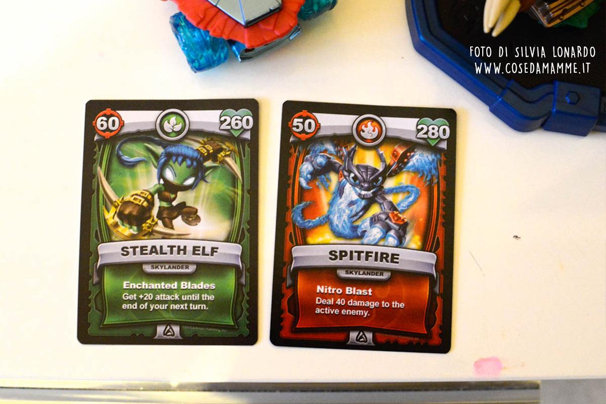 skylander superchargers carte personaggi