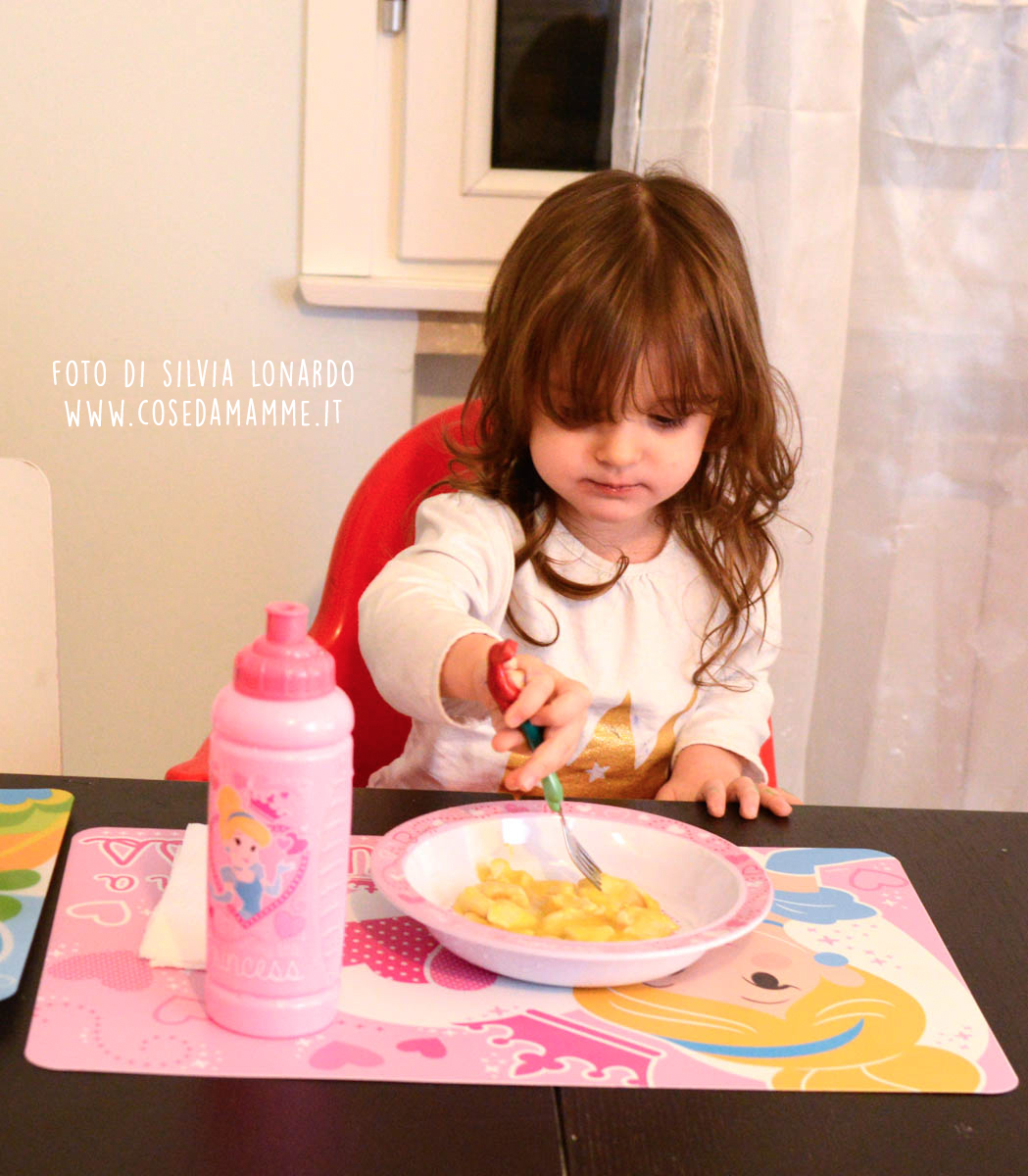 alyssa mangia pollo arancia