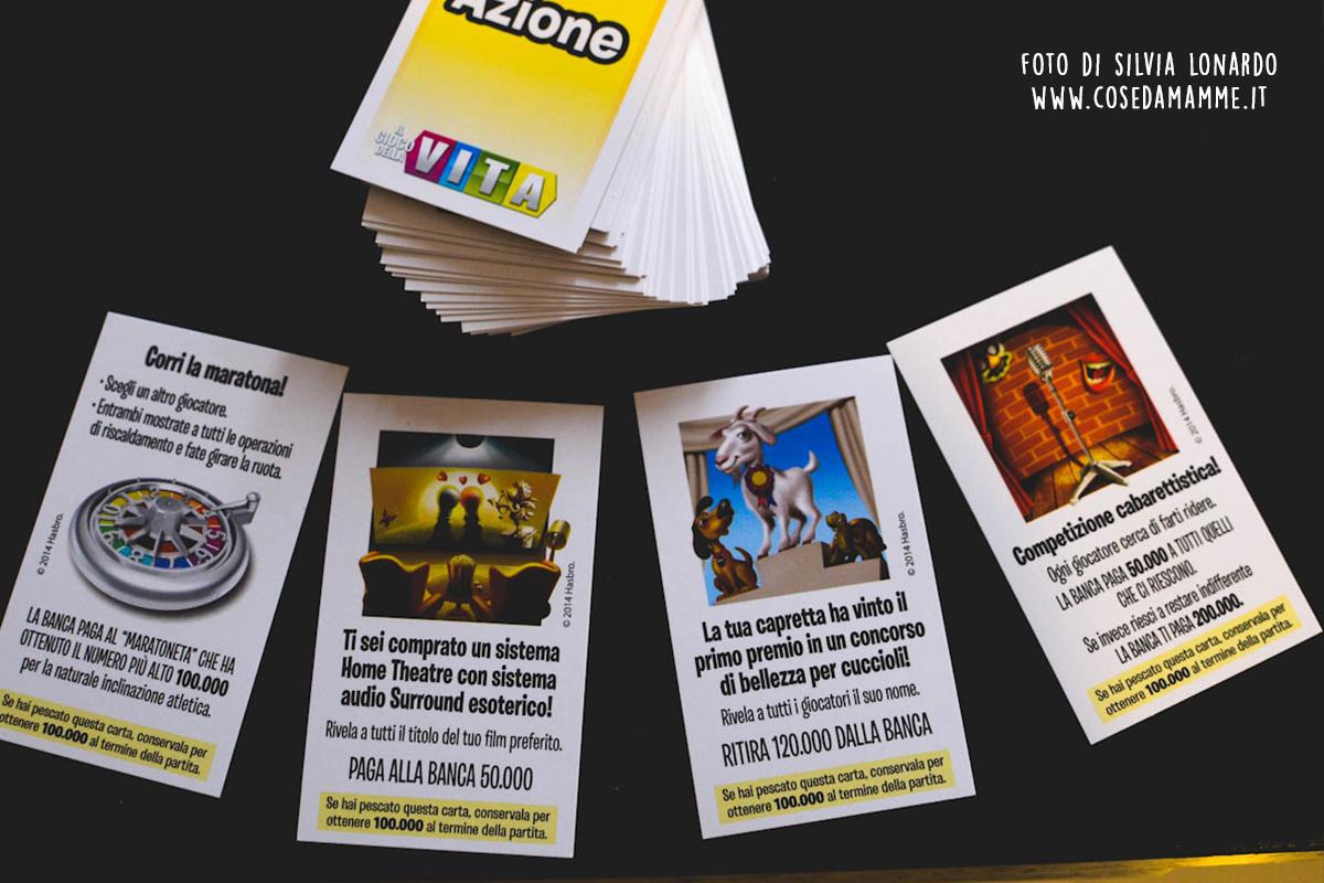 carte azione il gioco della vita