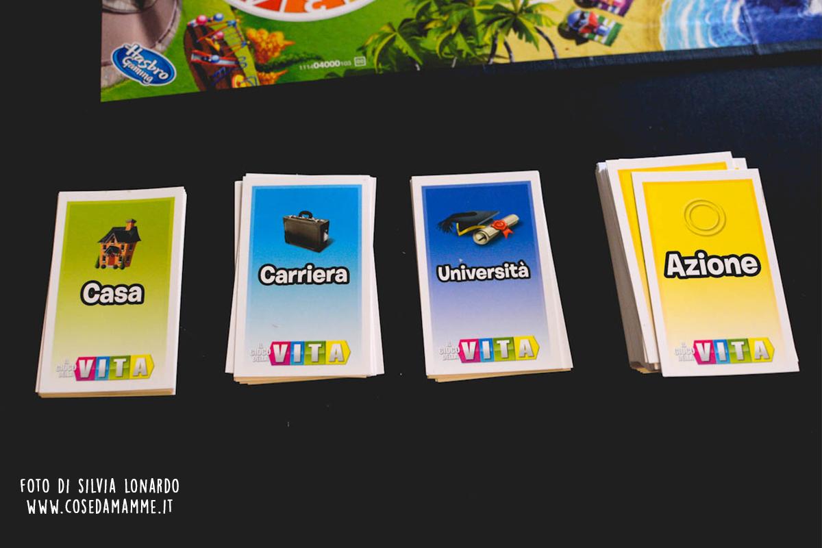 il gioco della vita carte gioco
