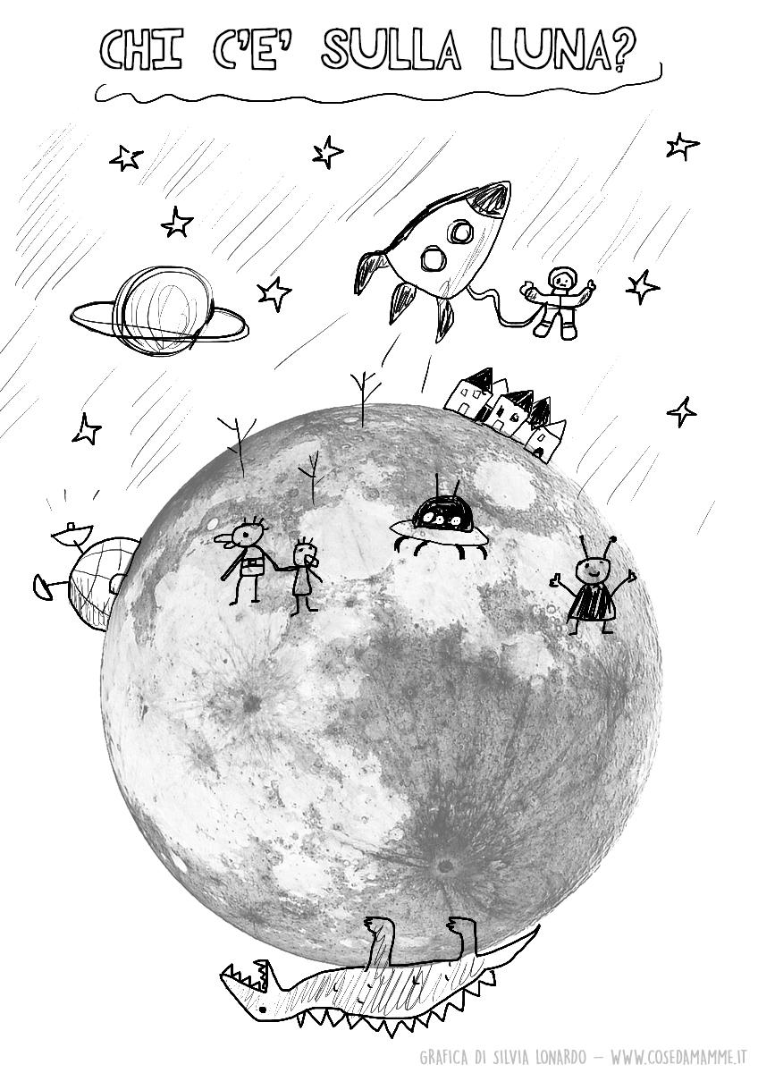 chi abita sulla luna esempio