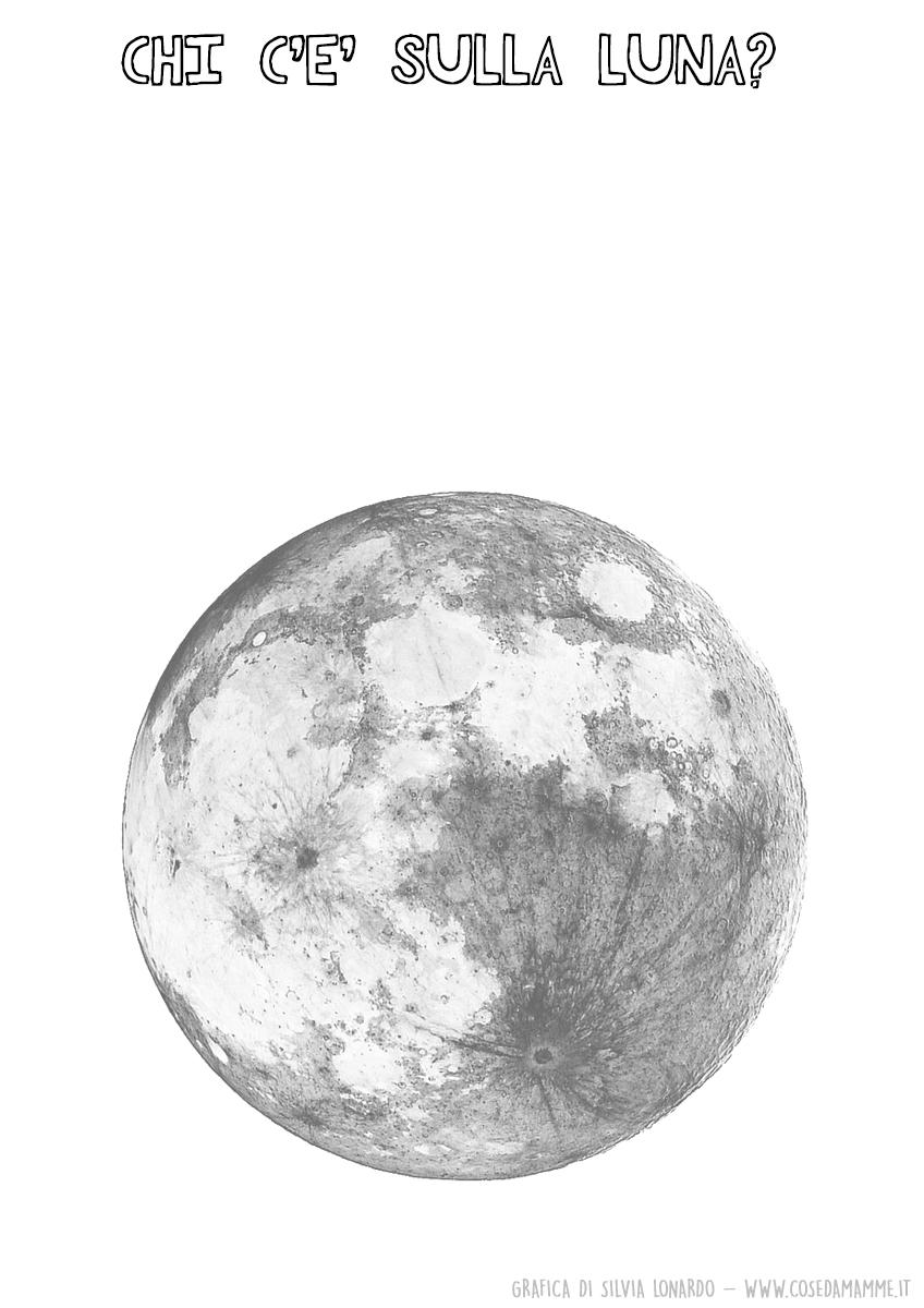 chi abita sulla luna