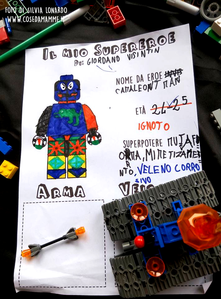 laboratorio lego rovigo comics 3