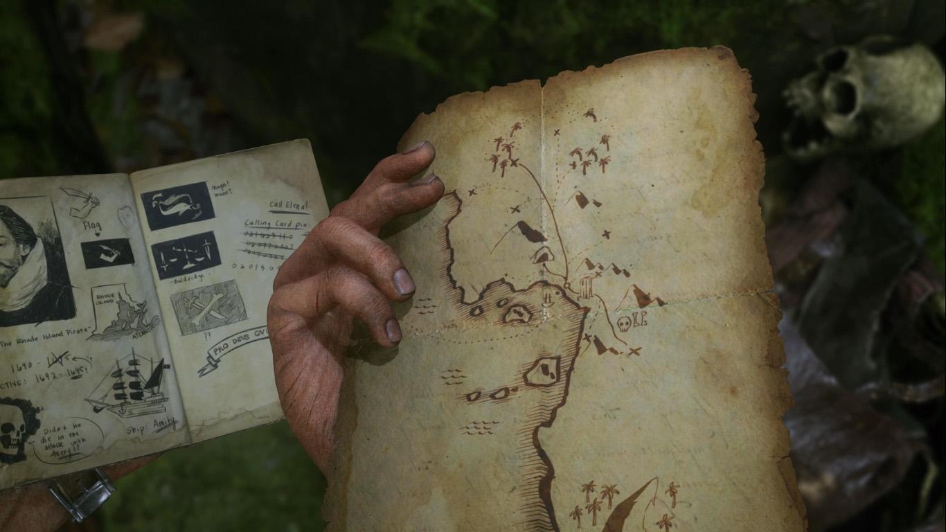 uncharted 4 mappa