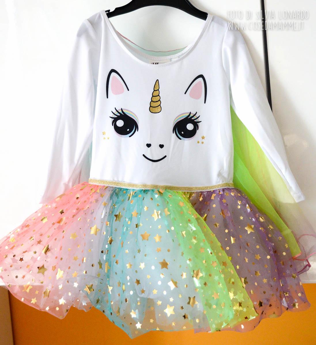 vestito alyssa unicorno