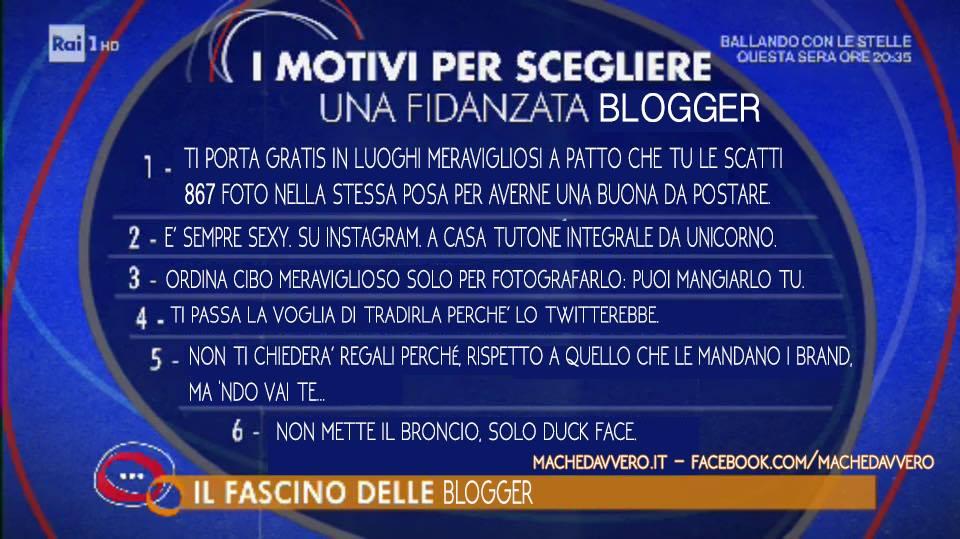 fascino blogger machedavvero
