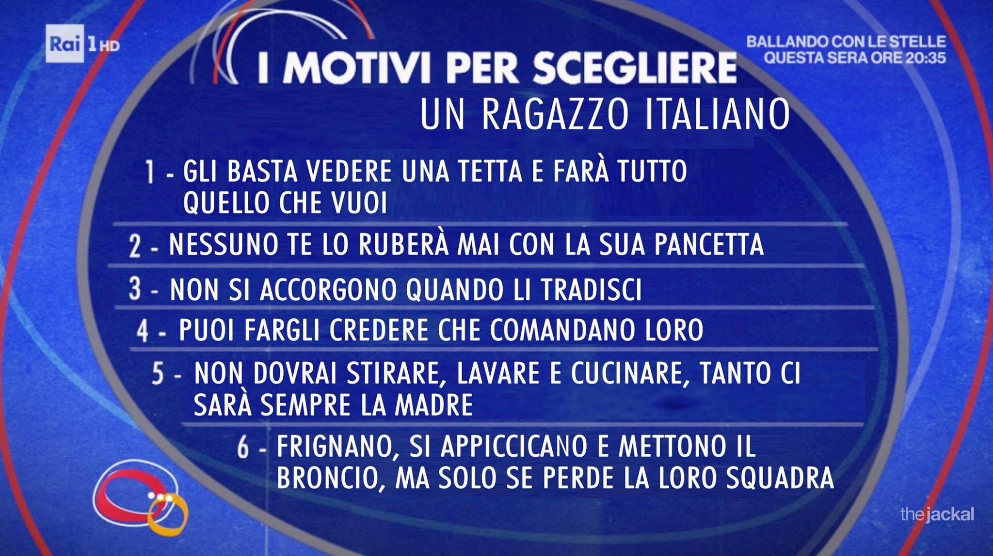 the jackal scegliere ragazzo italiano